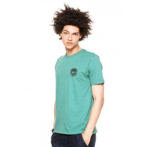 Camiseta Quiksilver Watermarked - Verde