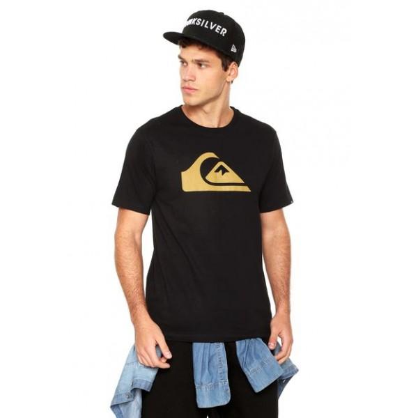 Camiseta Quiksilver M&W - Preta