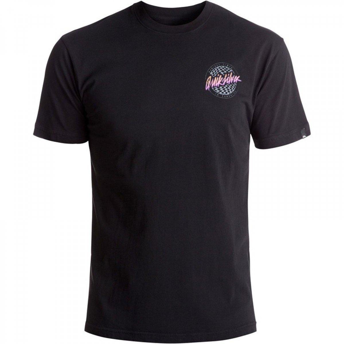 Camiseta Quiksilver Basica Sand Storm - Preta