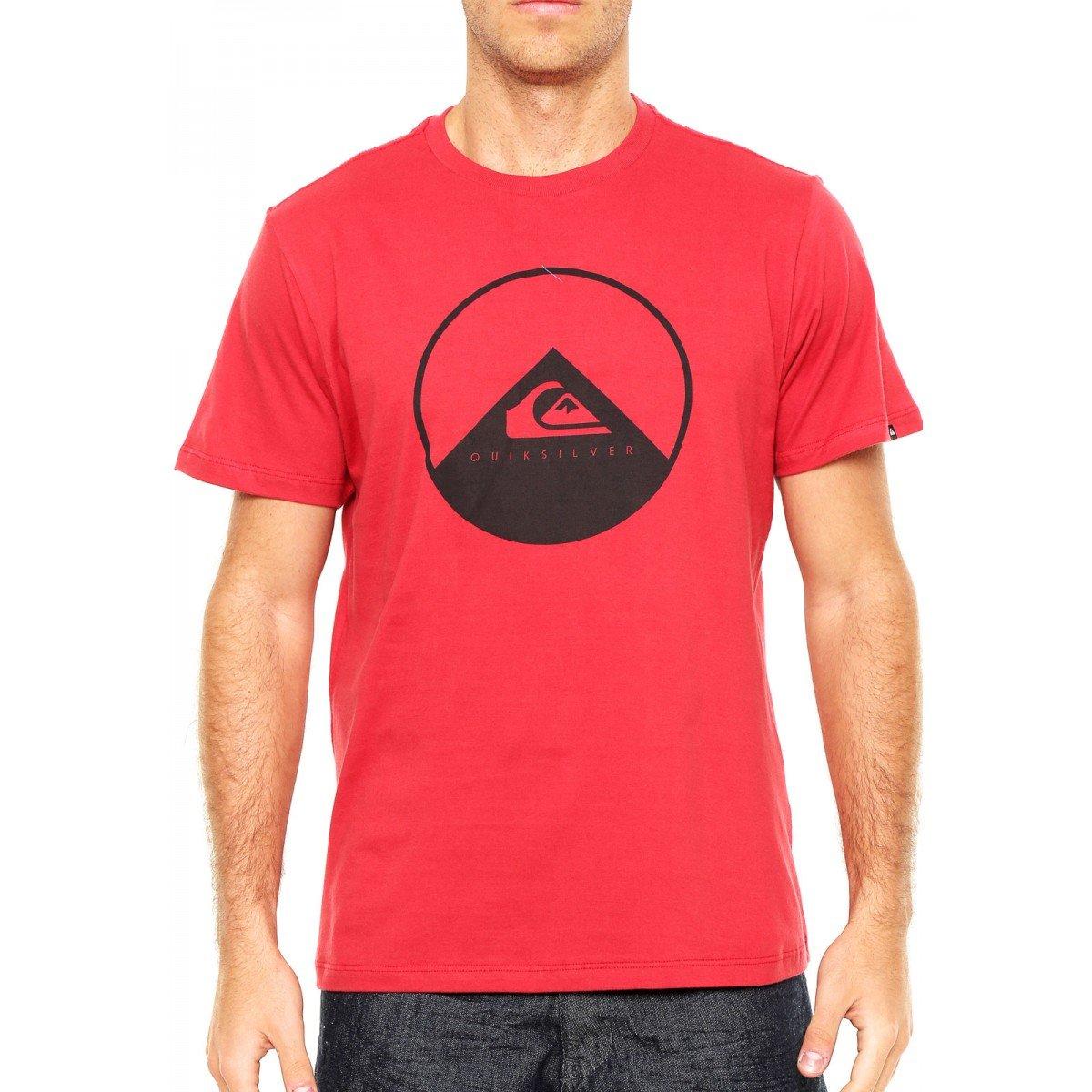 a585fba1ce Camiseta Quiksilver New Wave Vermelha - Compre Agora