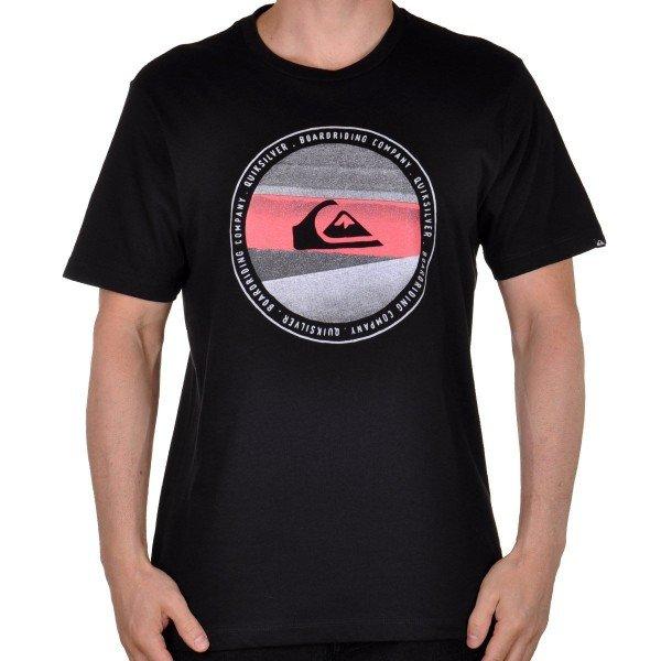 Camiseta Quiksilver Last Tree Masculina - Preta