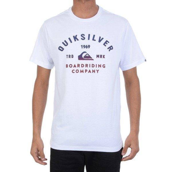 Camiseta Quiksilver Amsberry - Branca