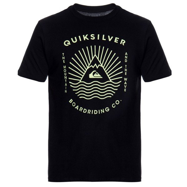 Camiseta Quiksilver The MTW Masculina - Preta