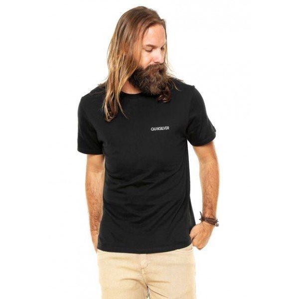 Camiseta Quiksilver Grand - Preta