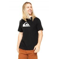 Camiseta Quiksilver Logo Essential - Preta