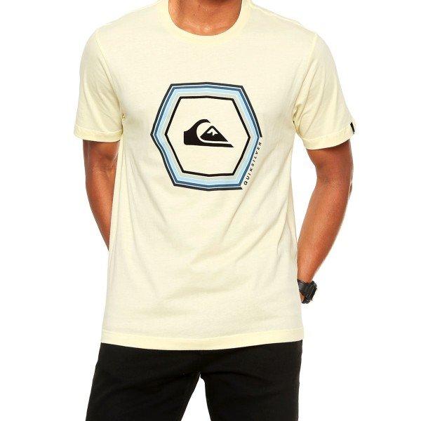 Camiseta Quiksilver Sounds Masculina - Amarela