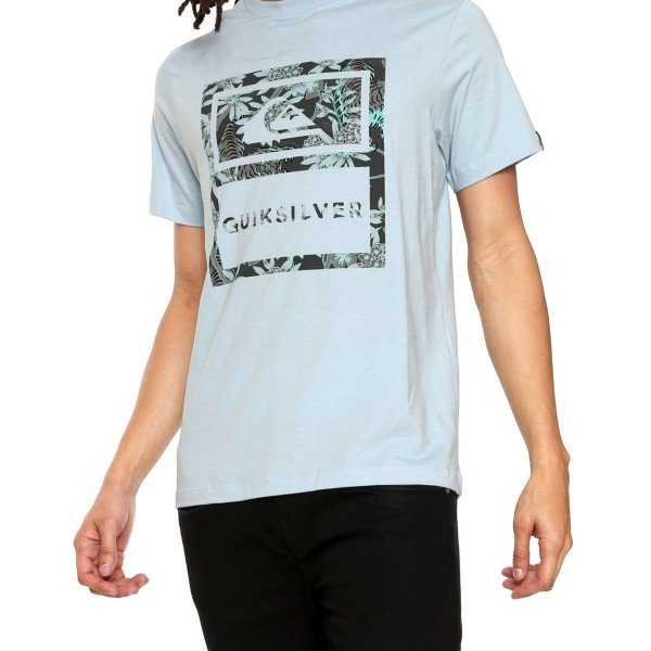 Camiseta Quiksilver Tiger Tracks Masculina - Azul