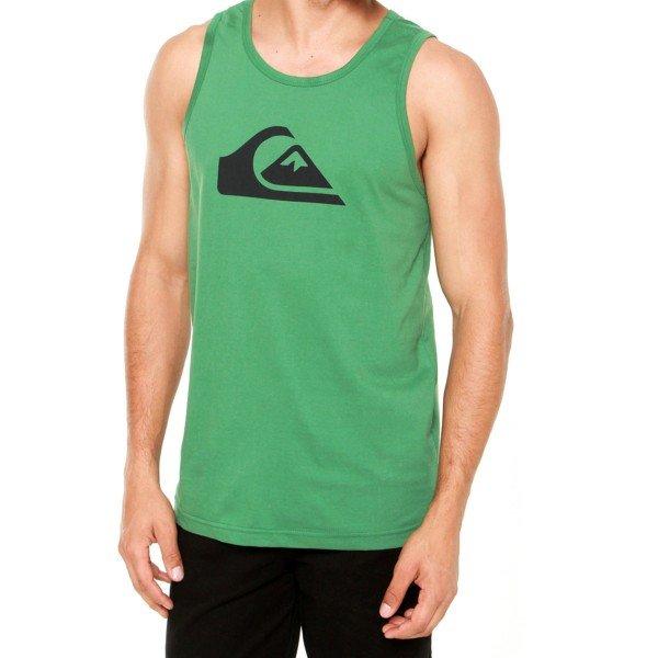 Camiseta Regata Quiksilver Mountain Wave Masculina - Verde