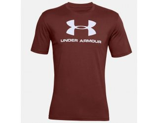 Camiseta Under Armour Sportstyle Logo Masculina - Vermelho Escuro