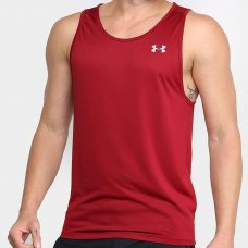 Regata Under Armour Tech 2.0 Tank Masculina - Bordô