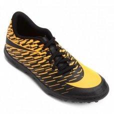 Chuteira Society Nike Bravatax II Tf Masculina - Laranja