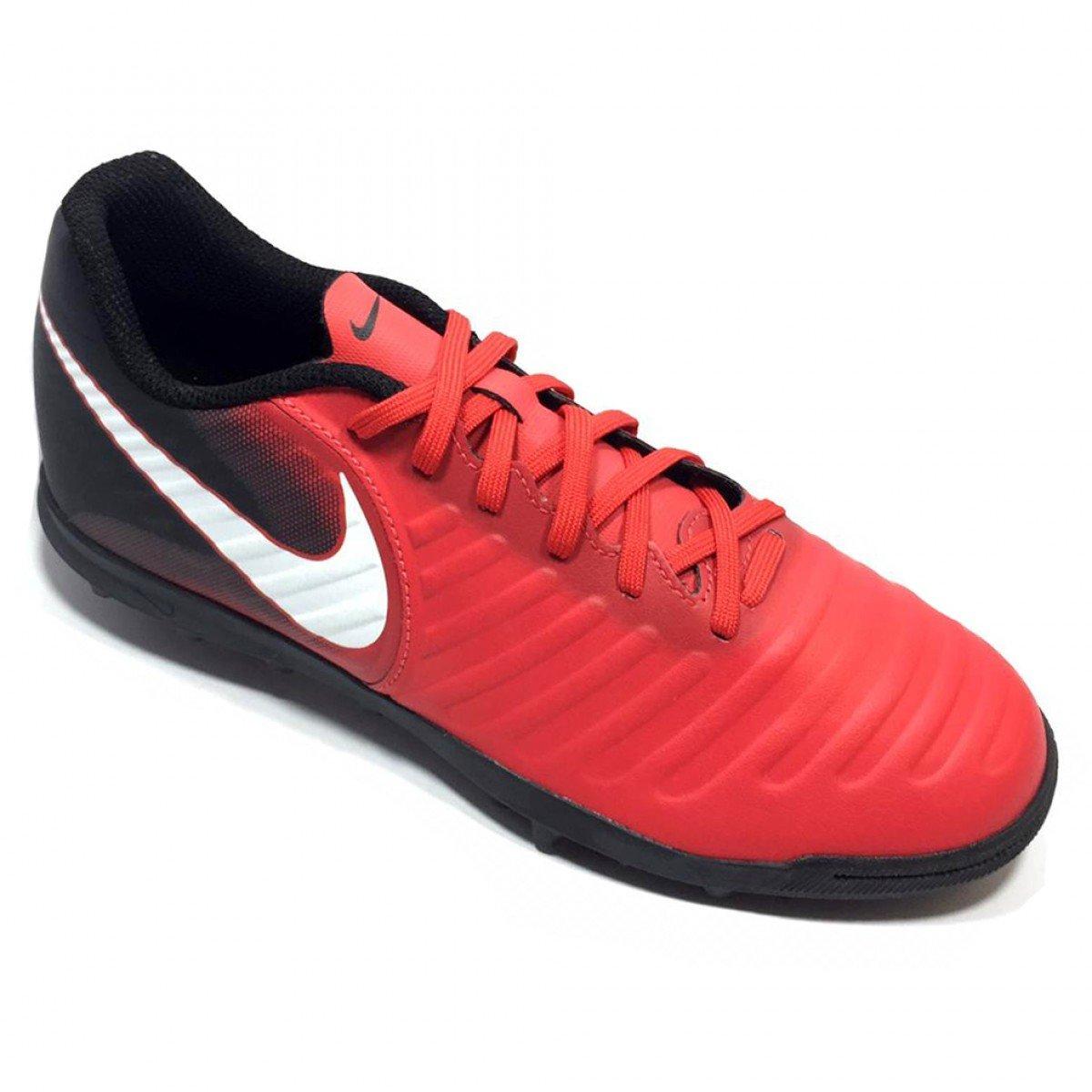 5036e9fc10 Chuteira Nike Tiempox Rio Iv Tf Masculina Vermelha - Compre Agora ...