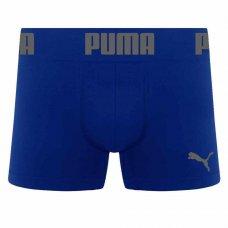 Cueca Puma Boxer Sem Costura Masculina - Azul