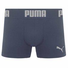 Cueca Puma Boxer Sem Costura Masculina - Chumbo
