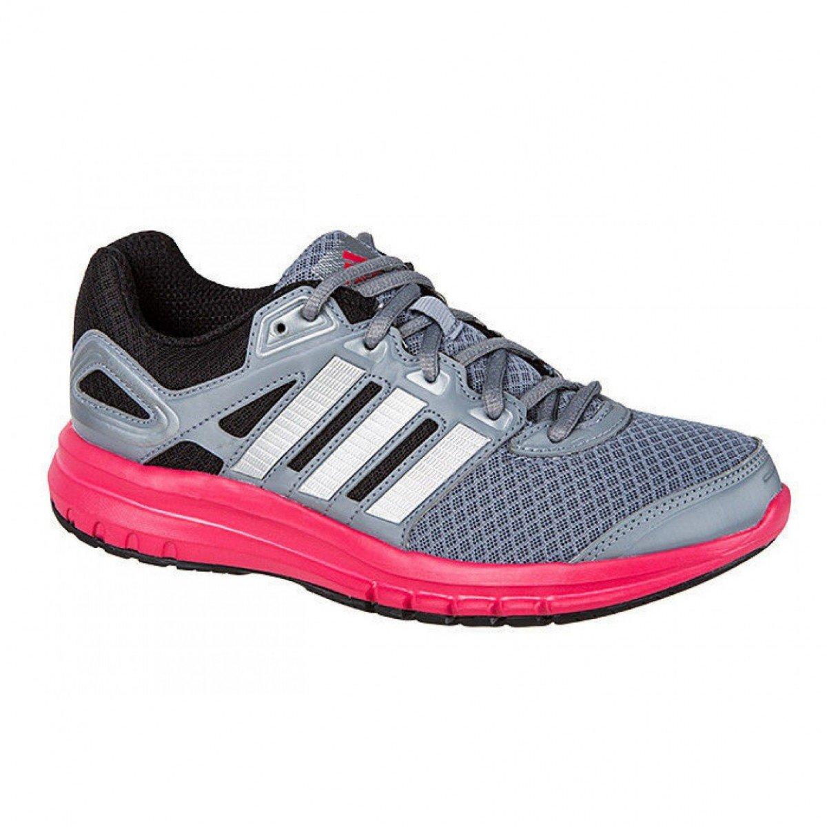 8222ccdd3 Tênis Adidas Duramo 6 Cinza Rosa Feminino - Compre Agora