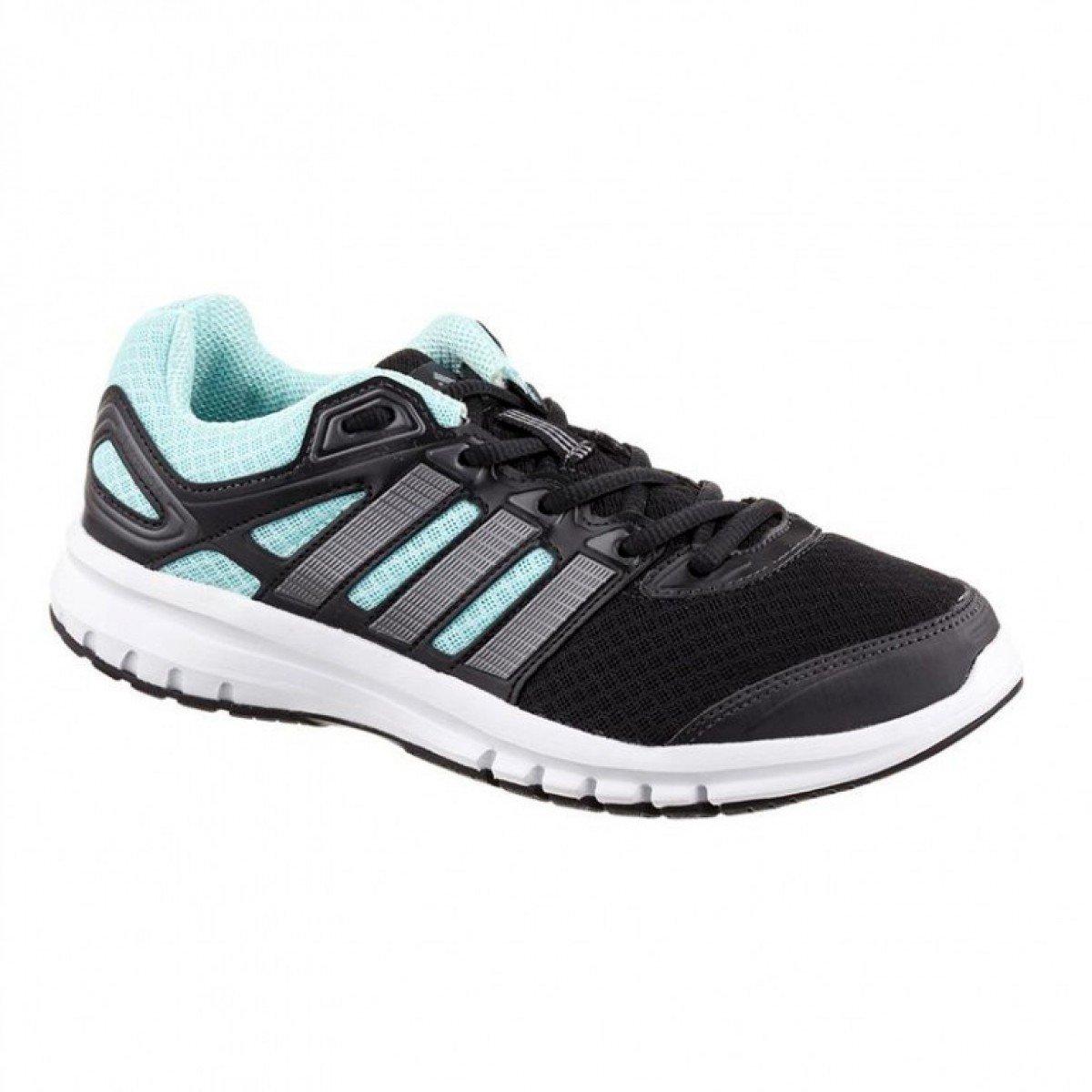 64c854a4f4c Tênis Adidas Duramo 6 Preto Verde Água Feminino - Compre Agora ...