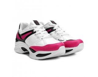 Tênis Azaleia Chunky Sneaker Feminino - Preto e Pink