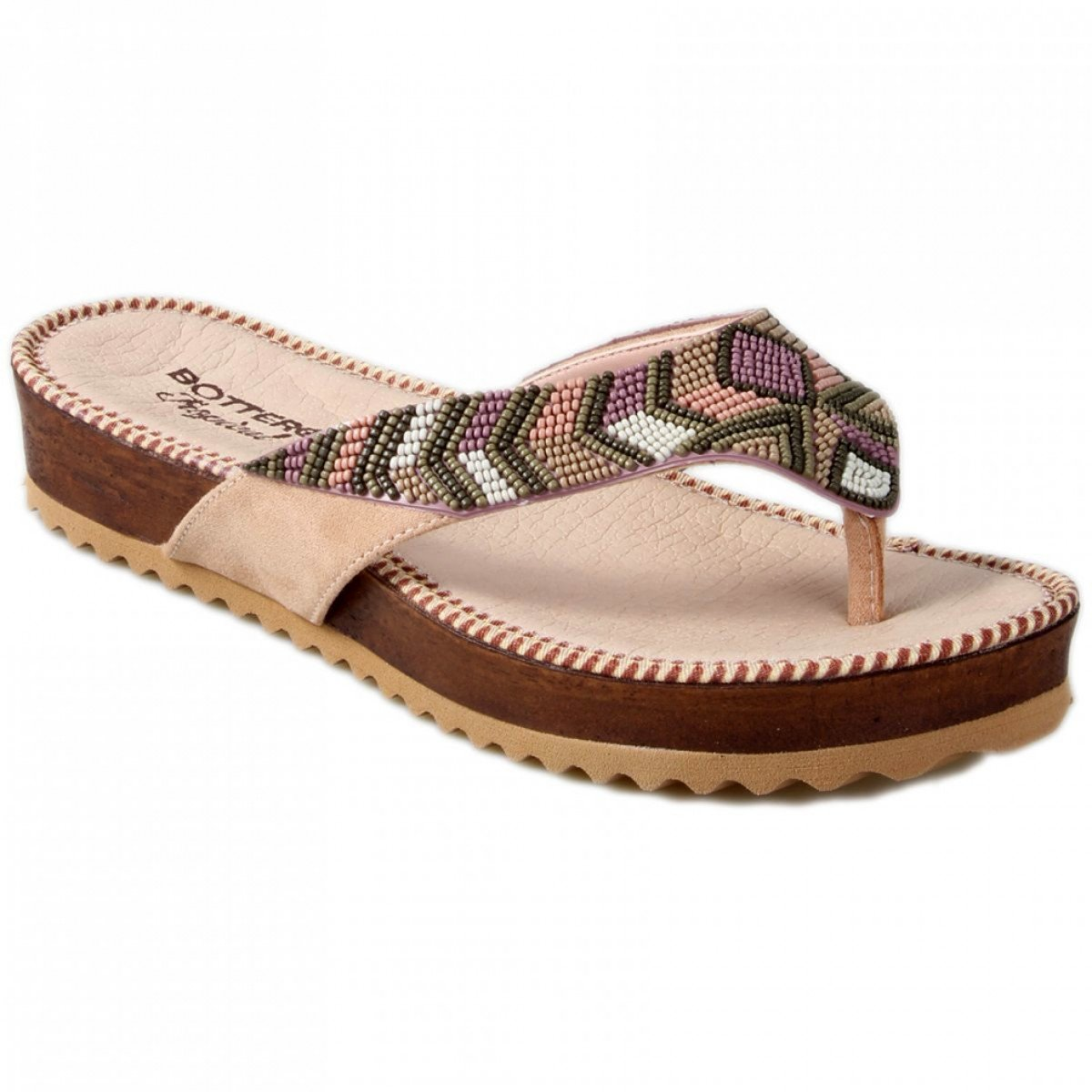 Chinelo Bottero Birken Tropical Feminino - Bege