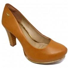 Sapato Dakota Meia Pata Tubarão Feminino - Caramelo