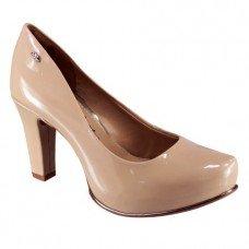 Sapato Dakota Meia Pata Fontana Feminino - Nude