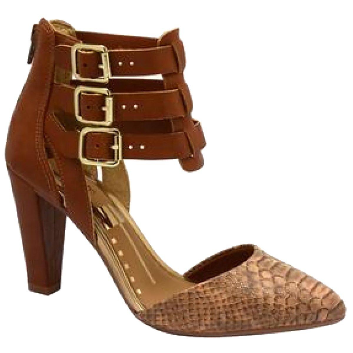 bf6c4e8ff Sapato Scarpin Dakota Velivar Castanho - Compre Agora |Cabana Magazine