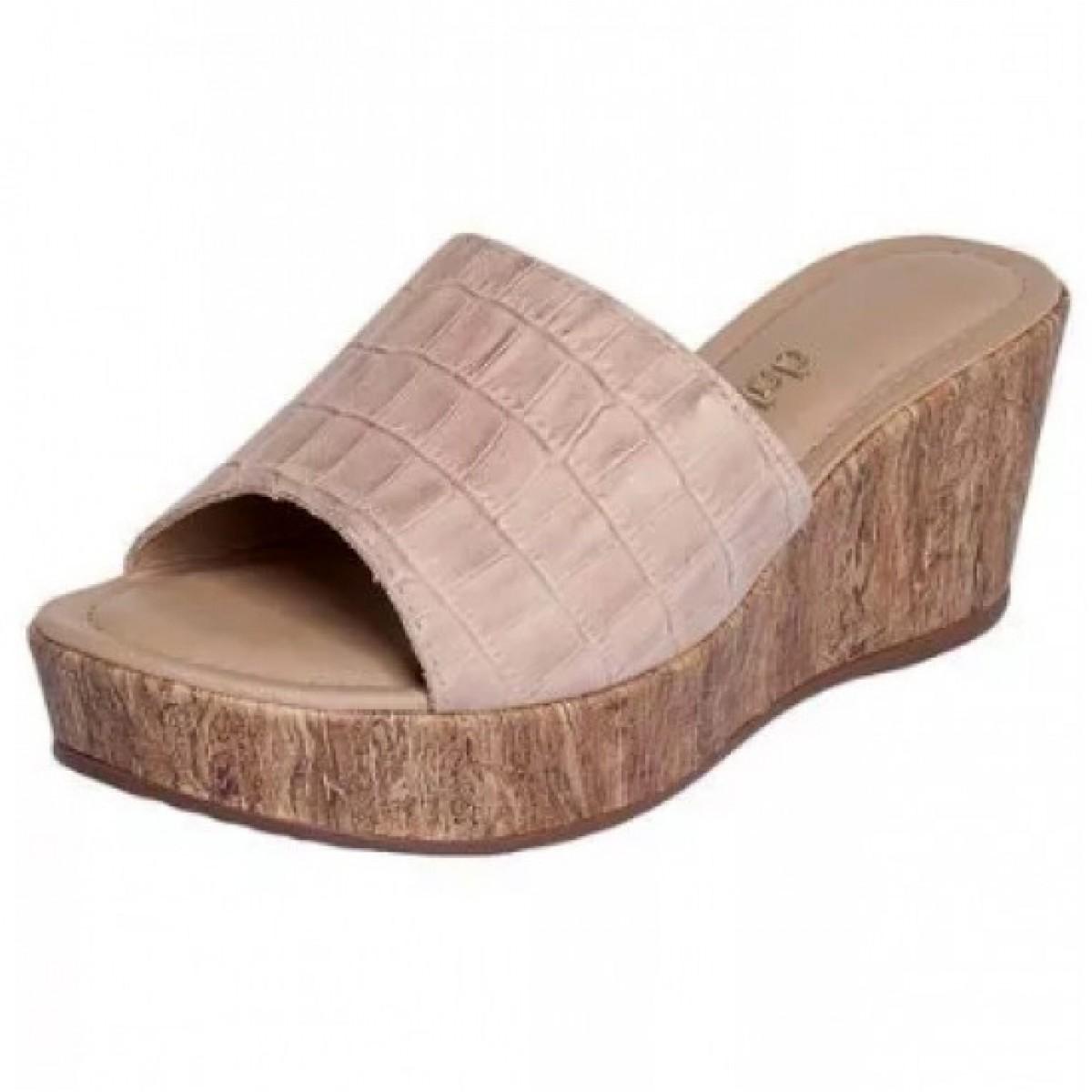 f8bc18bffc Tamanco Feminino Dakota Anabela Fibra Marfim - Compre Agora