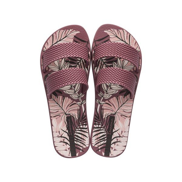 Chinelo Ipanema City Print - Bordô