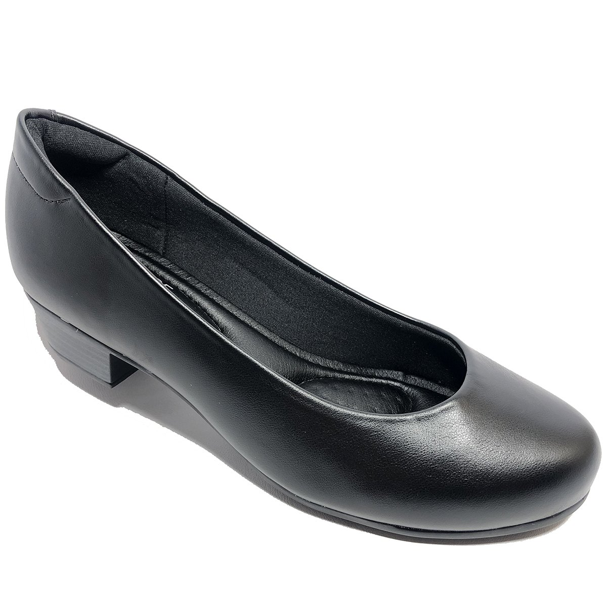 8f3679e7d Sapato Modare Ultra Conforto Napa Salto Baixo Preto - Compre Agora ...