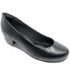 Sapato Modare Ultra Conforto Napa Salto Baixo - Preto
