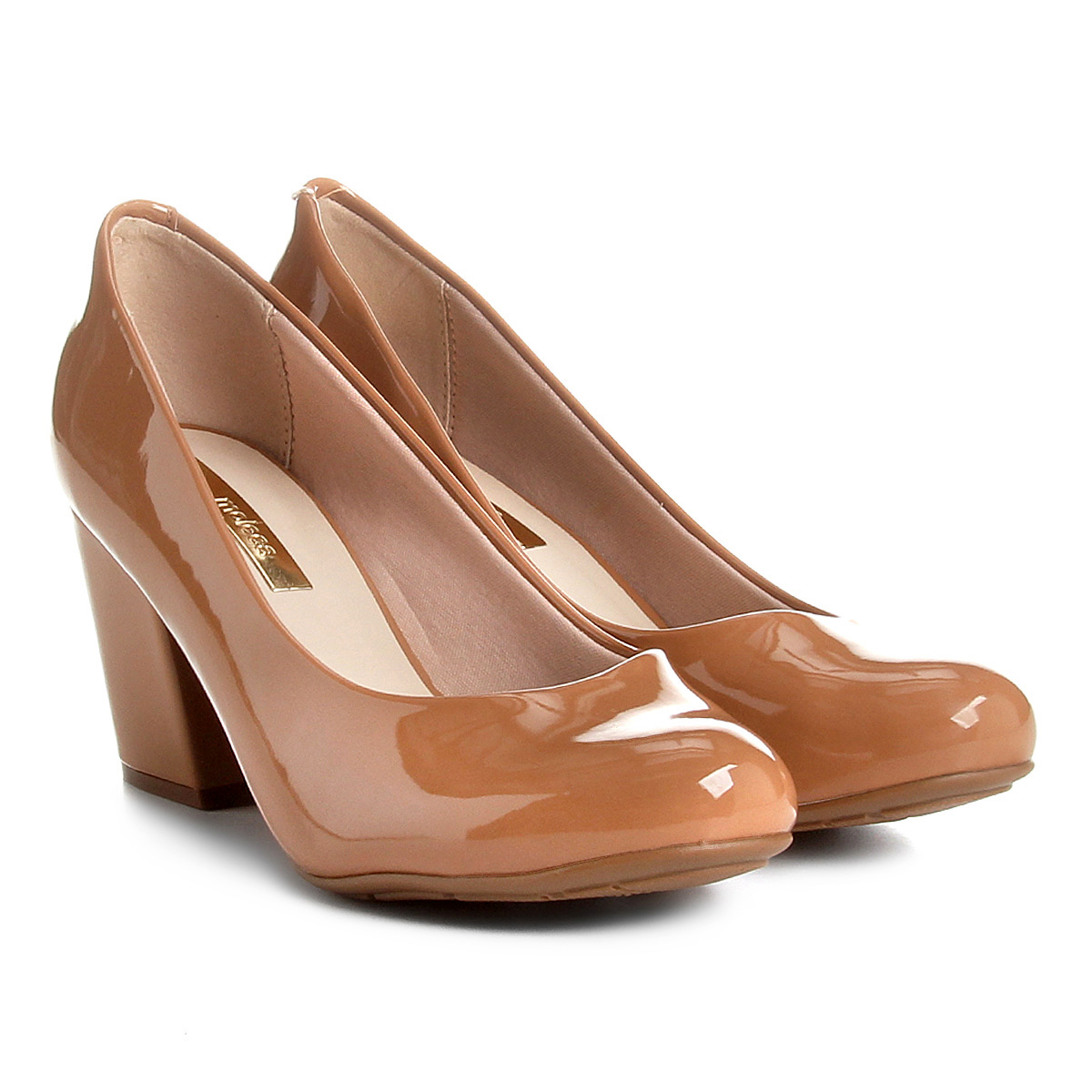 61114ebdd2 Sapato Moleca Boneca Verniz Feminino Nude - Compre Agora