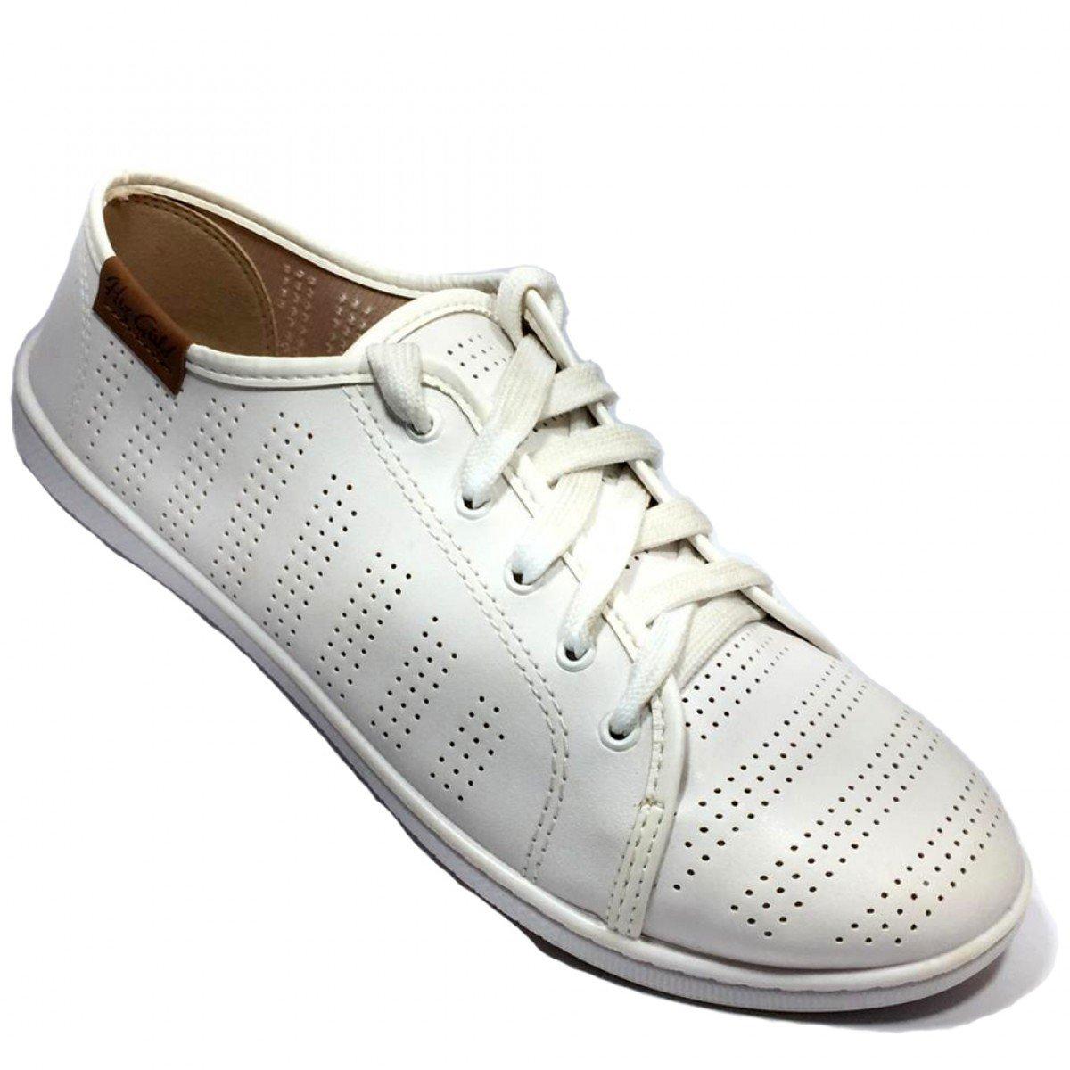 cada7fbb130 Tênis Feminino Moleca Casual Branco - Compre Agora