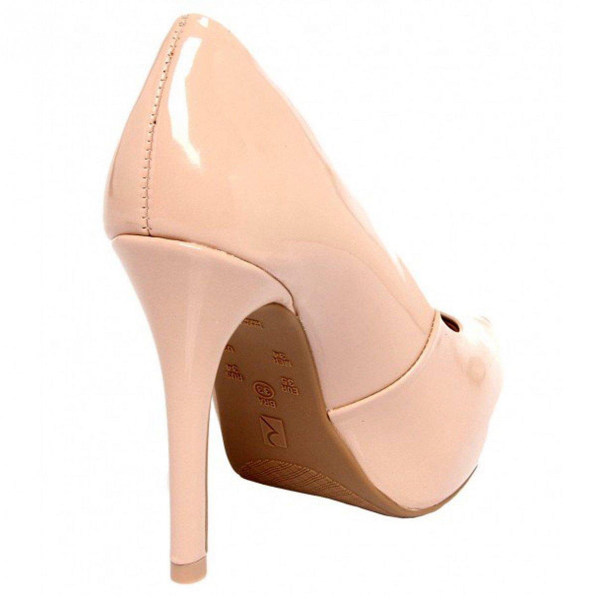 97ca19a158 Sapato Feminino Ramarim Tubarão Nude - Compre Agora