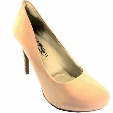 Sapato Ramarim Verniz Feminino - Nude