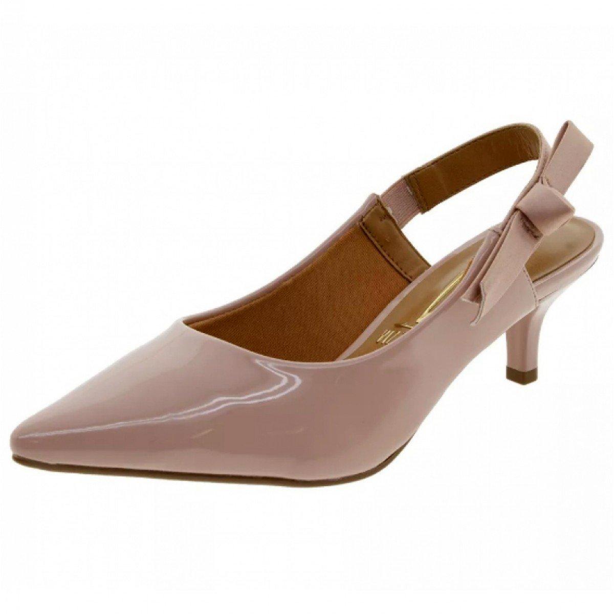 3af7146e1f Sapato Feminino Vizzano Scarpin Chanel Verniz Rosa - Compre Agora ...