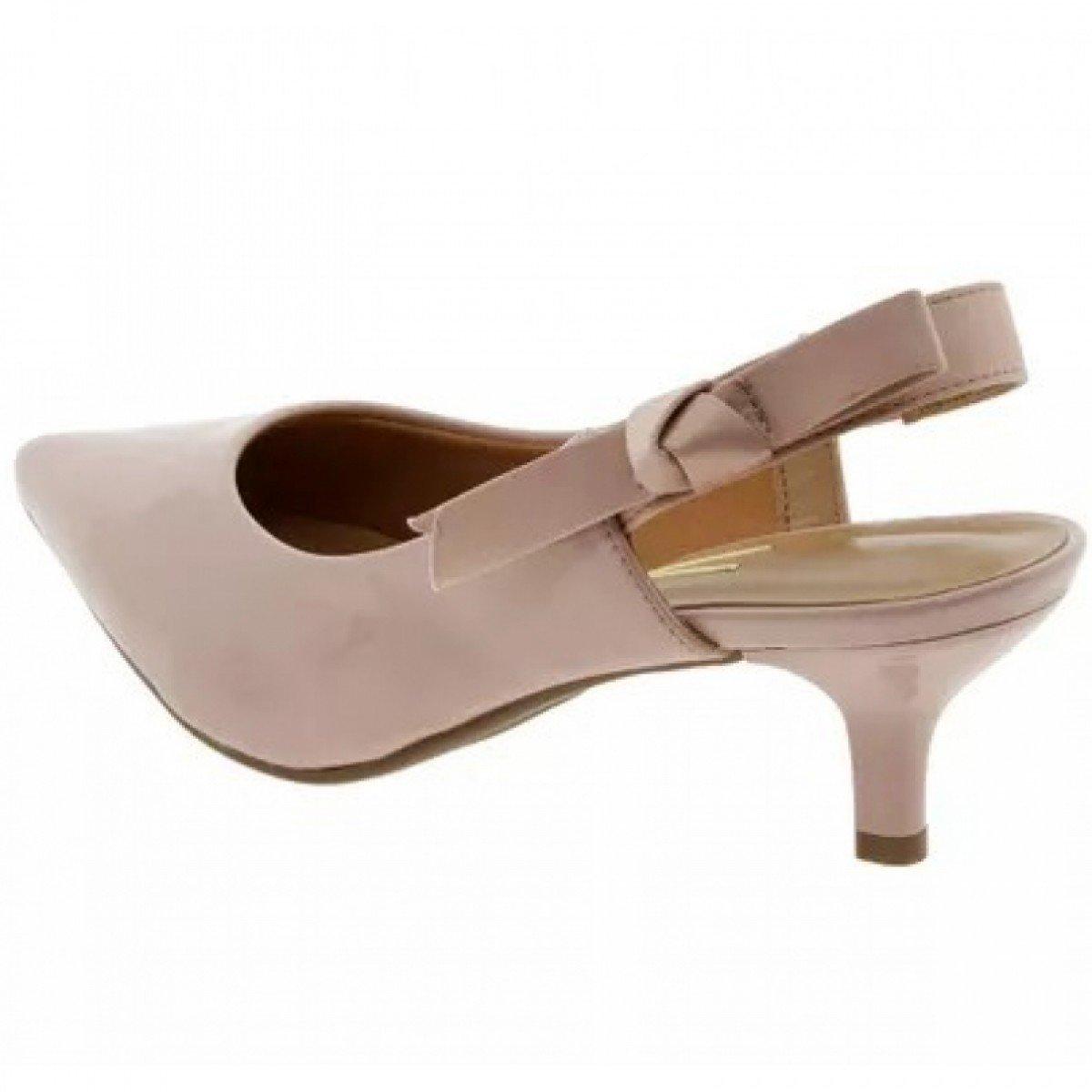 e13d43fadc Sapato Feminino Vizzano Scarpin Chanel Verniz Rosa - Compre Agora ...