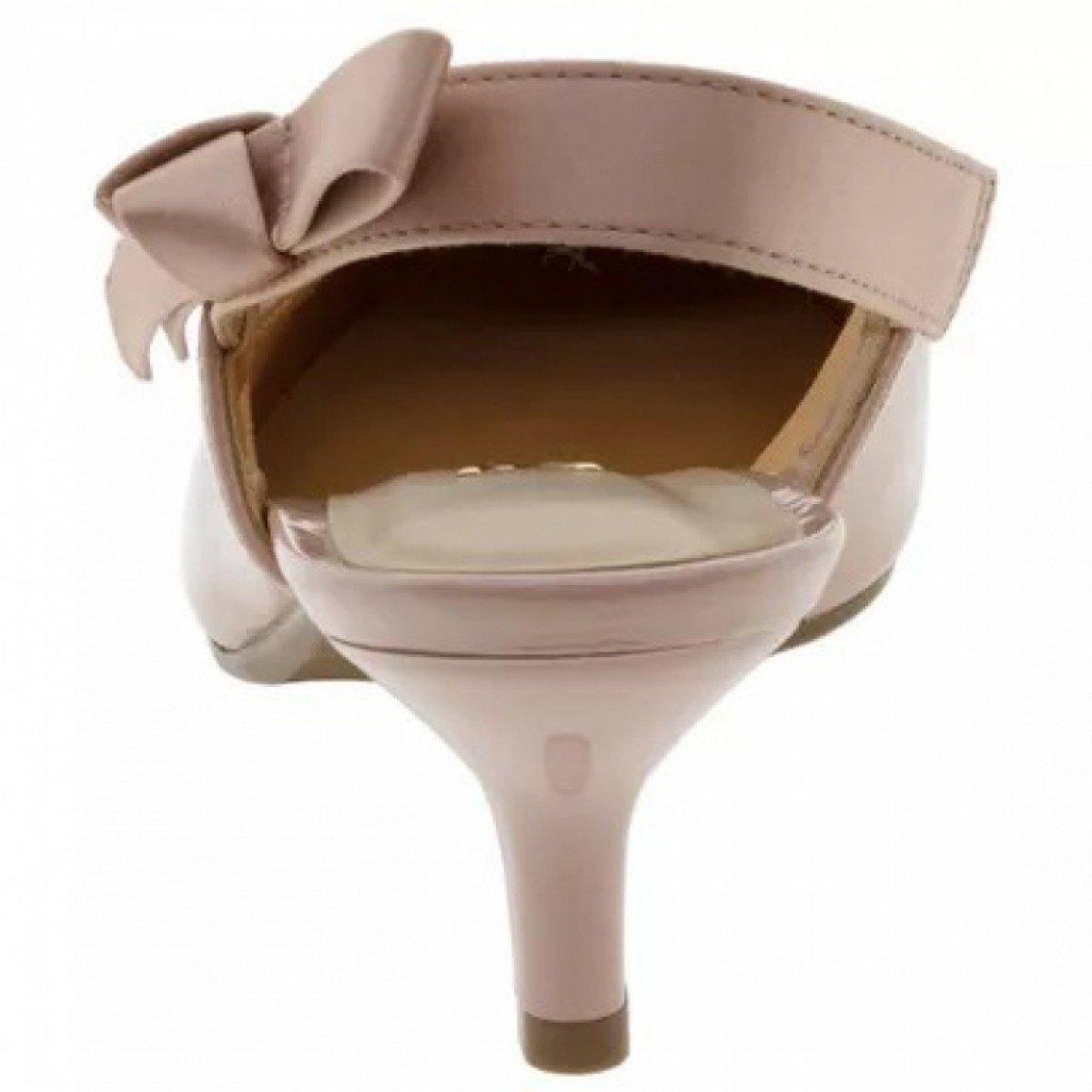 2b7f791b3e Sapato Feminino Vizzano Scarpin Chanel Verniz Rosa - Compre Agora ...