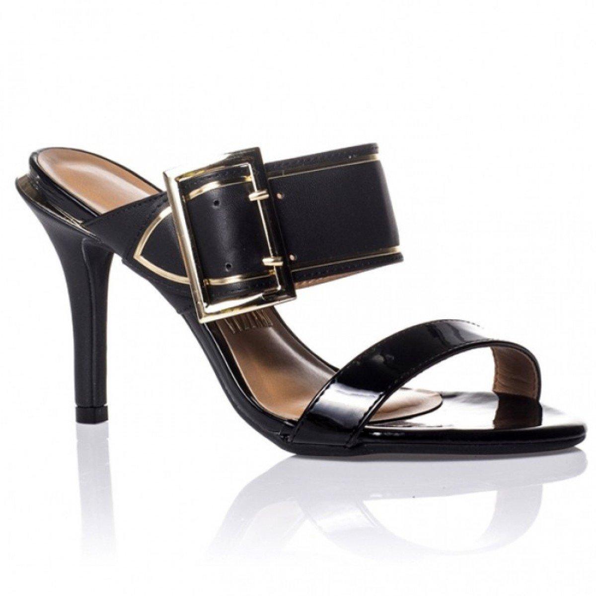 1dcd571ff7 Sandália Feminina Vizzano Verniz Premium Preto - Compre Agora ...