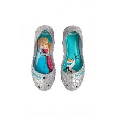 Sapatilha Grendene Frozen Let It Go Infantil - Prata