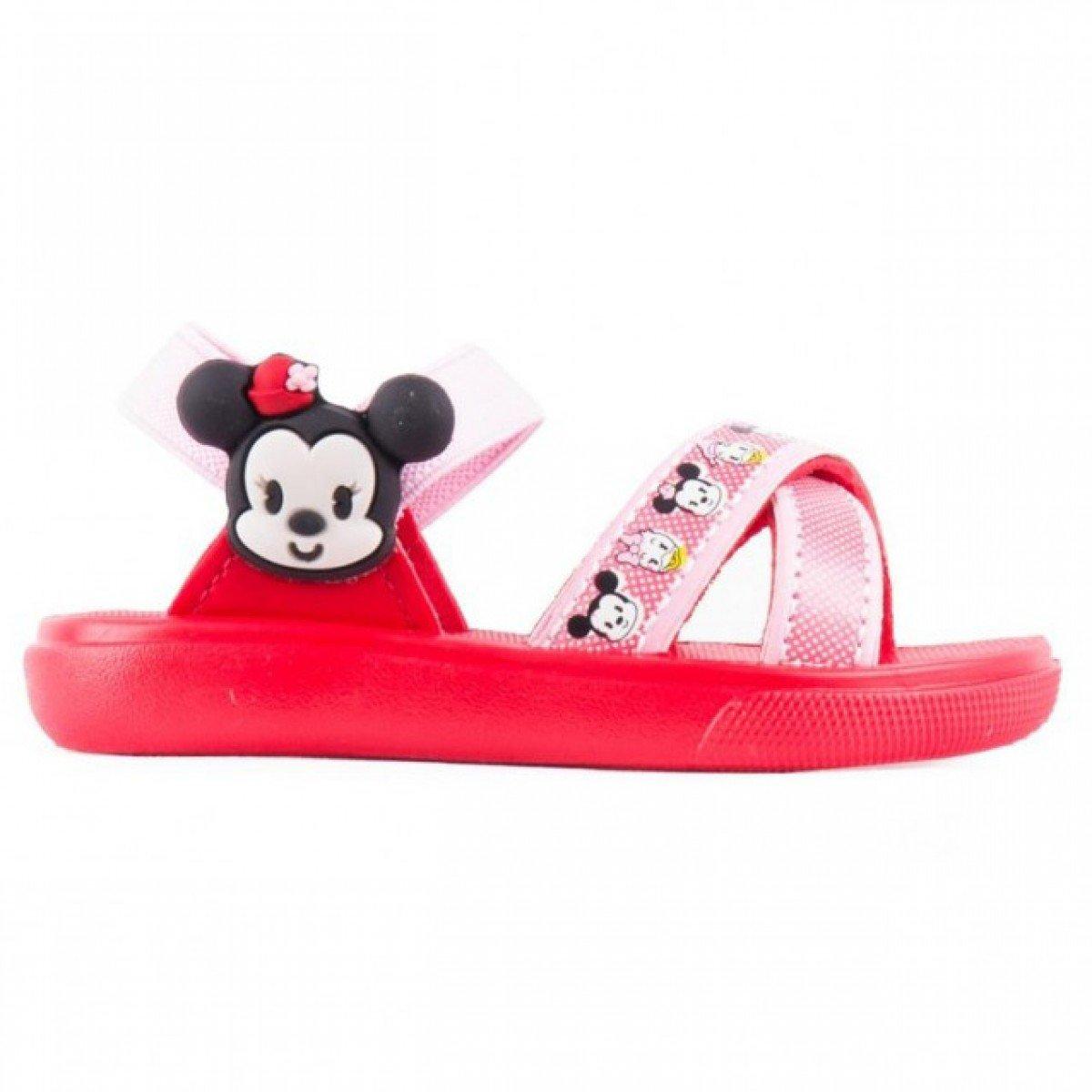 9e06d998b ... Sandália Grendene Mickey e Minnie Hora Infantil - Vermelha ...