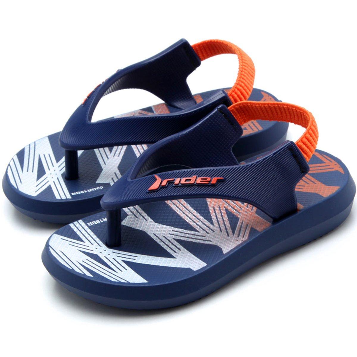 Chinelo Ipanema Infantil Rider R1 Baby - Azul