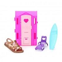 Sandália Barbie Dreamhouse Grendene Infantil - Dourado