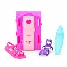 Sandália Barbie Dreamhouse Grendene Infantil - Rosa