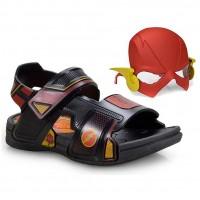 Sandália Flash Liga da Justiça Máscara Grendene Infantil