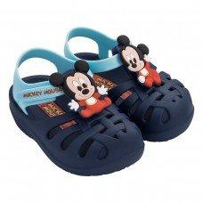 Sandália Mickey Disney Clássicos Grendene - Azul