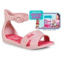 Sandália Barbie Grendene Confeitaria Infantil - Rosa