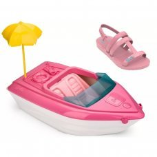 Sandália Barbie Iate Grendene Infantil - Rosa