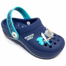 Babuche Authentic Games Grendene Infantil - Azul