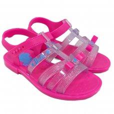 Sandália Barbie Pink Car Grendene Kids - Rosa