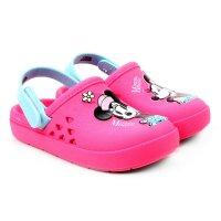 Crocs Disney Love Minnie Babuche Baby Grendene Kids - Rosa
