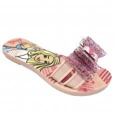 Chinelo Slide Barbie Cool Dream Menina - Rosa